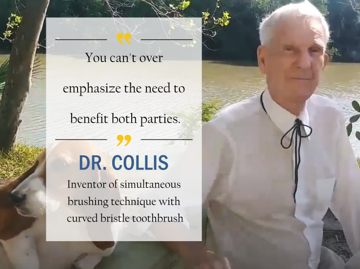 Dr.Collis the inventor of the simultaneous brushing technique